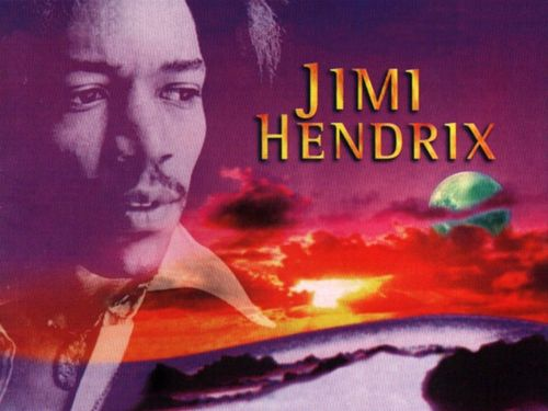 Jimi Hendrix kertas dinding