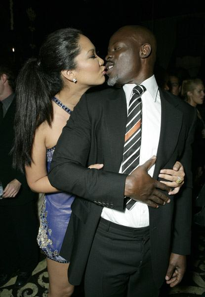 Can Djimon hounsou and kimora lee simmons consider, that
