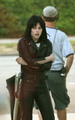 Kristen in Joan Jett leathers - the-runaways-movie photo