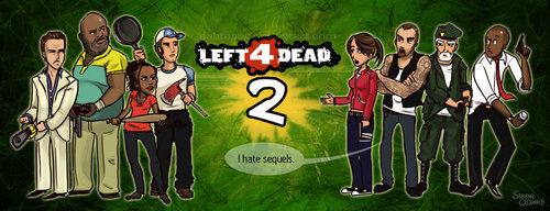 Left 4 Dead shabiki Art