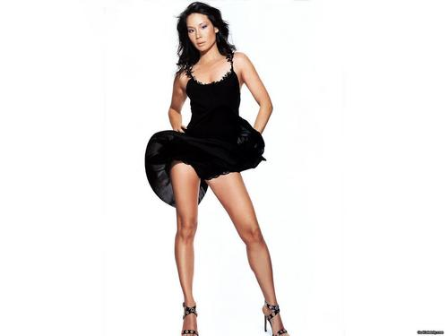 Lucy Liu wallpaper with tights called Lucy Liu