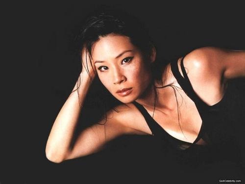 lucy liu wallpaper containing attractiveness entitled Lucy Liu