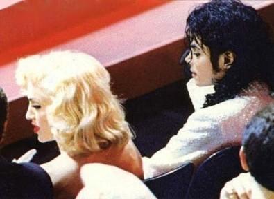 마돈나 and Michael Jackson