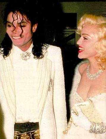 Madonna and Michael Jackson - madonna Photo