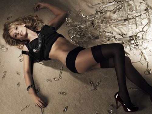 buffy, a caça-vampiros wallpaper possibly containing bare legs, hosiery, and a hip boot titled Maxim photoshoot