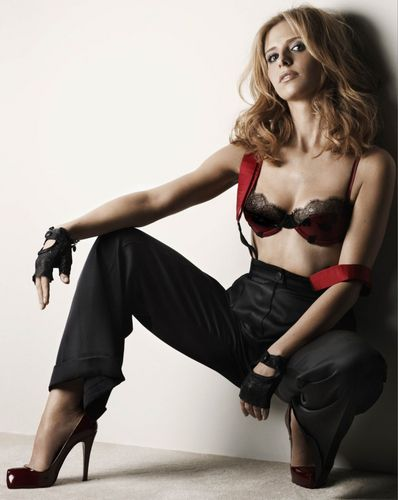 Buffy the Vampire Slayer wallpaper probably with attractiveness titled Maxim photoshoot