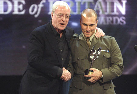 Michael Caine at the Pride of Britain Awards 2008