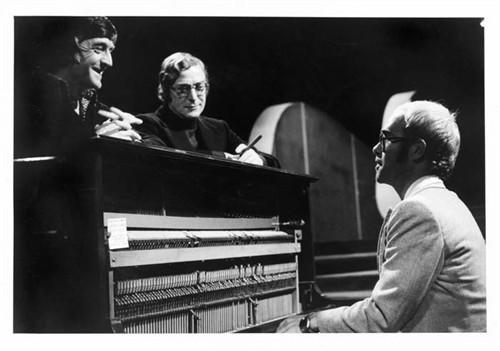 Michael Parkinson, Michael Caine and Elton John