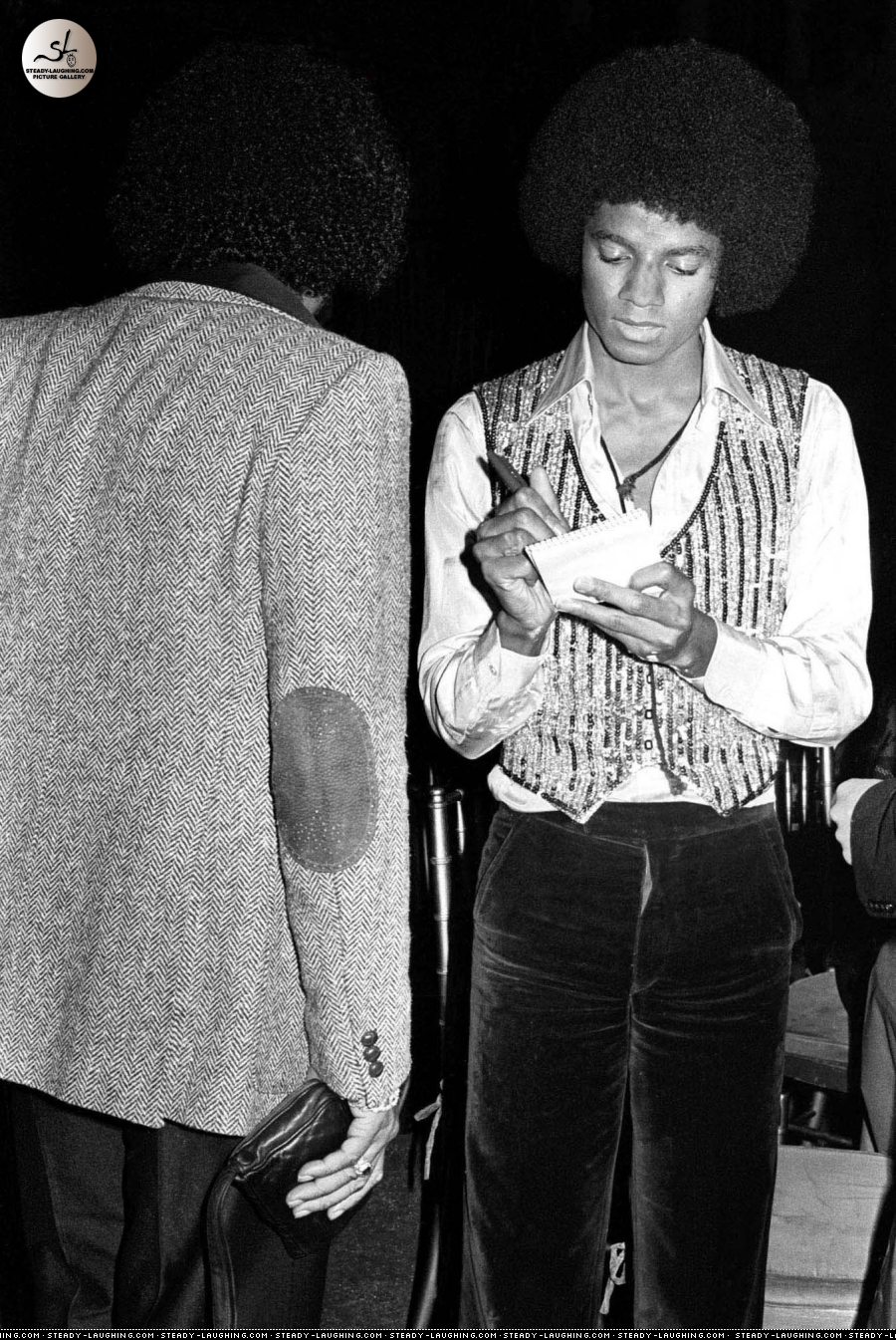 Michael @ the Premiere of The Wiz [1978]
