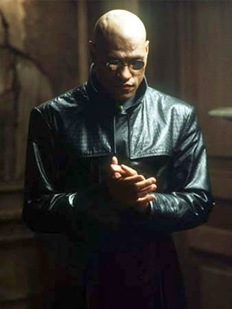 The Matrix fondo de pantalla containing a well dressed person and an outerwear called Morpheus
