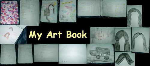 My Art book!