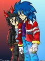 My Human Sonic and Shadow Pic ^^