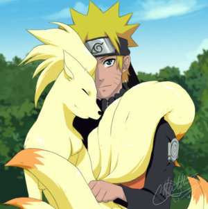 Naruto and Pokemon 18 Tails