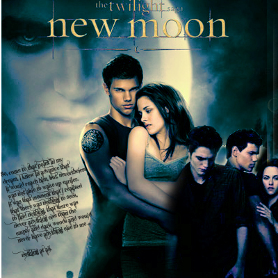 Twilight Series wallpaper titled New Moon