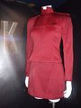 New Star Trek movie costumes - Red Starfleet cadet uniform