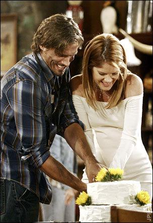 Nick and Phyllis Wedding 2006