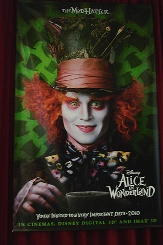 Official Movie Poster ~ The Mad Hatter