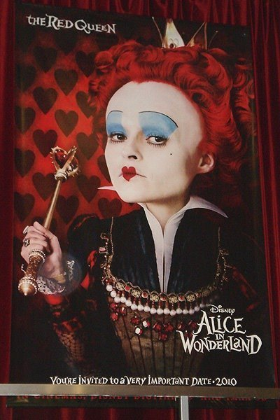 red queen alice in wonderland movie