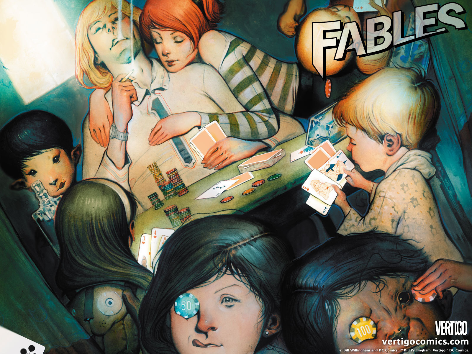 Vertigo Comics images Fables   Official Vertigo Wallpapers ...