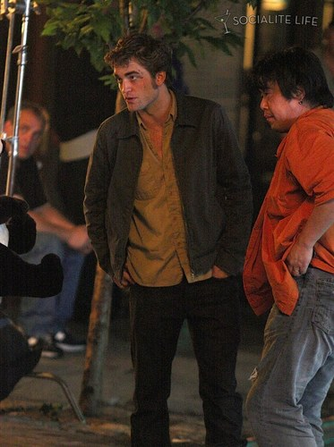 On The Set Of Remember Me