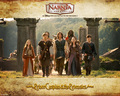 Prince Caspian and The Pevensies - the-chronicles-of-narnia wallpaper