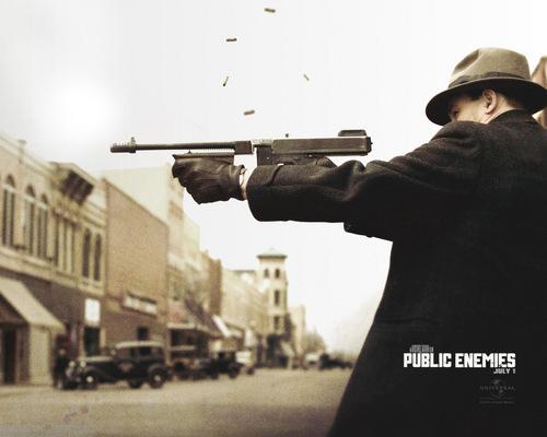 Public Enemies kertas dinding