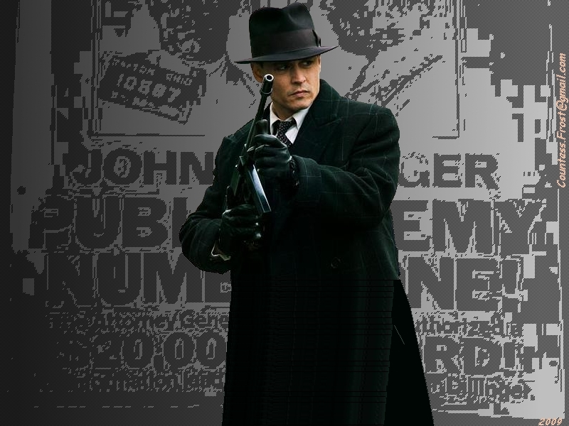 Public Enemy Number One Shadow Public Enemies Wallpaper