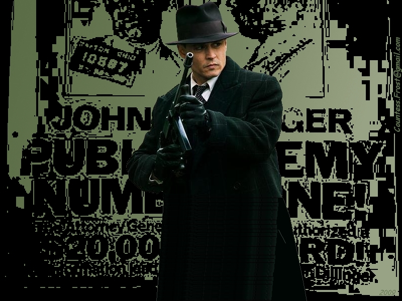 Public Enemy Number One Public Enemies Wallpaper 6813453