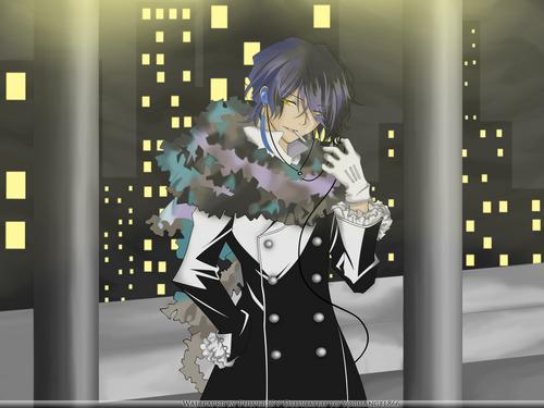 Pandora Hearts দেওয়ালপত্র entitled Raven