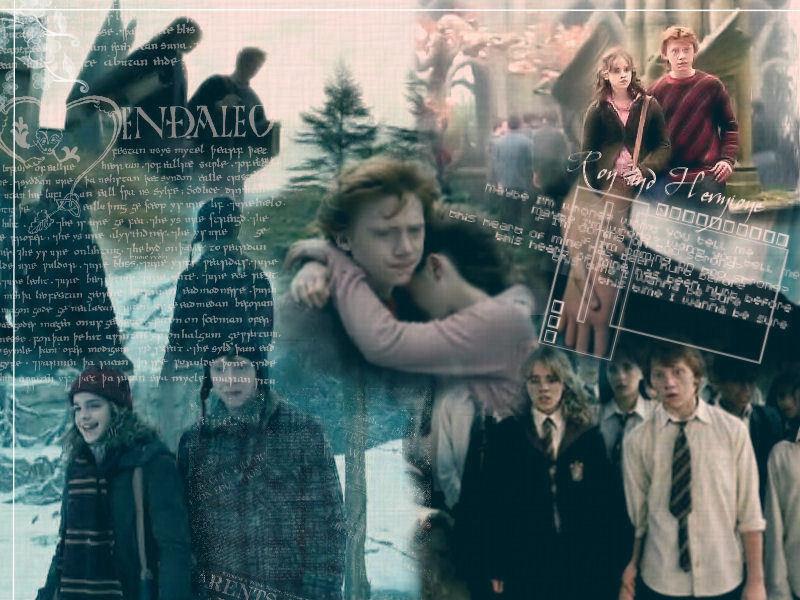 Ron/Hermione - Couples from Harry Potter fondo de pantalla ...