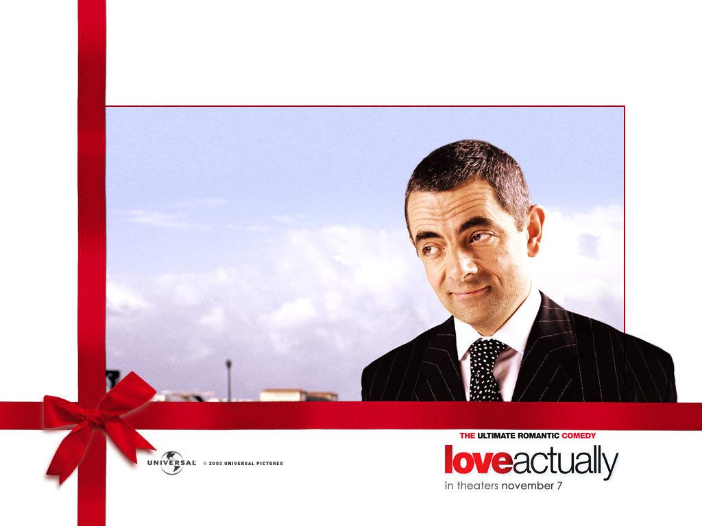 Rowan Atkinson Fondo De Pantalla Amor Actually Fondo De