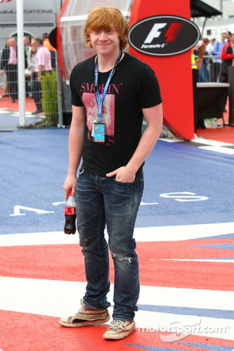 Rupert at the British Grand Prix