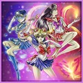 Sailor Moon, Mercury, & Mars