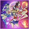 Sailor Moon, Mercury, & Mars