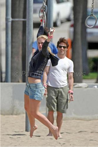 Santa Monica with Anna