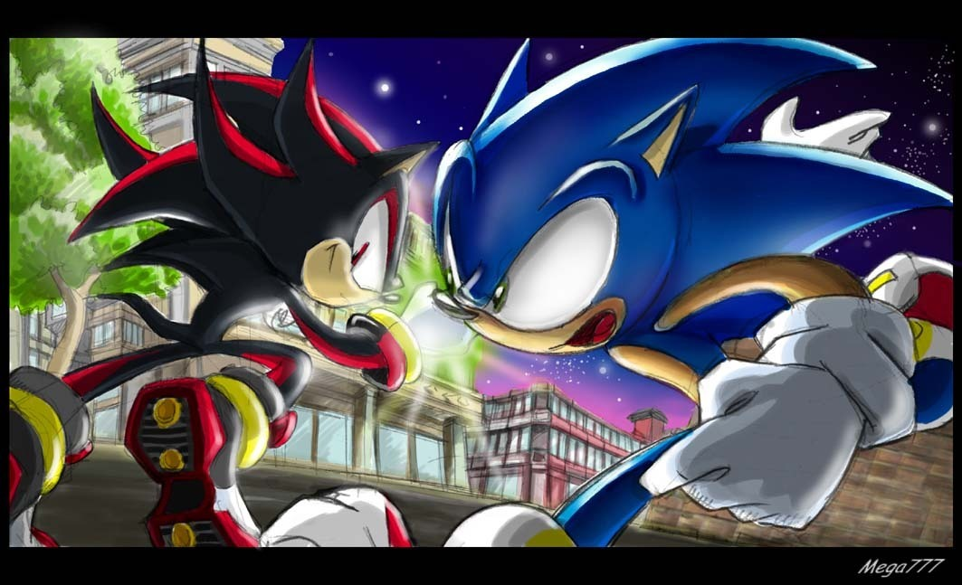 Shadow dethklok and others images shadow vs sonic hd - Jeux de sonic vs shadow ...