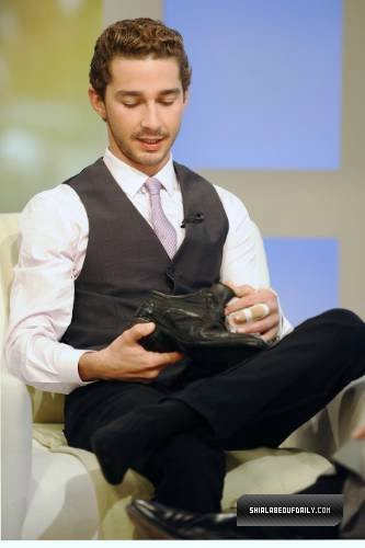 Shia on The Early Show