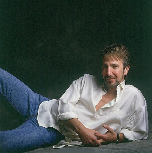 So sexy in jeans - alan-rickman Photo