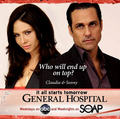 Sonny Corinthos & Claudia Zacharra - general-hospital-couples photo
