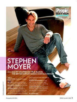 Stephen in magazines