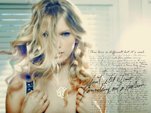 Taylor Swift wallpaper containing a portrait titled Taylor<3
