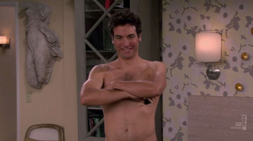 Ted as the naked man
