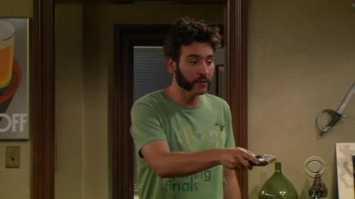 Ted's beard