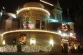 The Magic Castle Decorated At Christmas - magic photo
