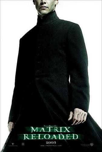 The Matrix fondo de pantalla with a business suit and a well dressed person called The Matrix Reloaded Movie Poster