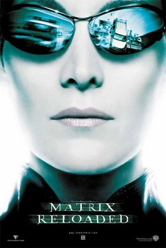 The Matrix fond d'écran entitled The Matrix Reloaded Movie Poster