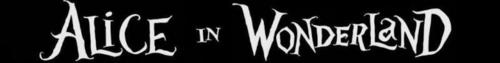 Tim Burton's 'Alice In Wonderland' Logo Banner