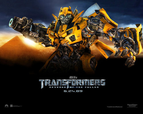Transformers karatasi la kupamba ukuta with anime titled Transformers: Revenge of the Fallen
