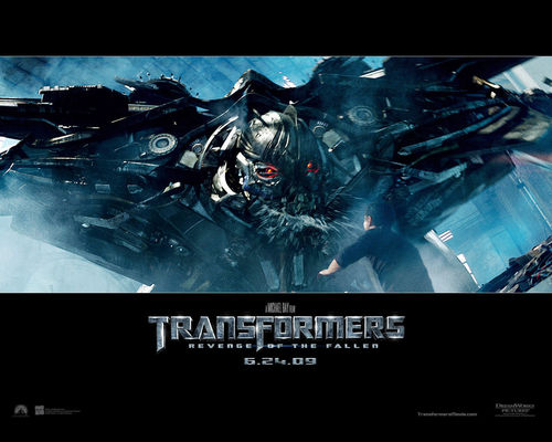 Transformers karatasi la kupamba ukuta probably with a high definition television, a televisheni receiver, and a nyumbani theater called Transformers: Revenge of the Fallen