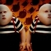 爱丽丝梦游仙境(2010) 照片 with a portrait called Tweedledee/Tweedledum